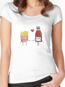Chips and Ketchup Women's Fitted Scoop T-Shirt