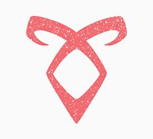 Angelic Power Distressed Pink Rune Unisex T-Shirt