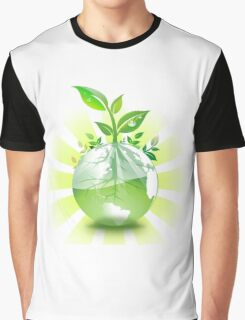 Green Earth Graphic T-Shirt