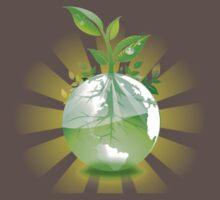 Green Earth One Piece - Short Sleeve