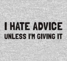 Hate Advice One Piece - Long Sleeve