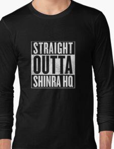 Straight Outta Shinra HQ - Final Fantasy VII Long Sleeve T-Shirt