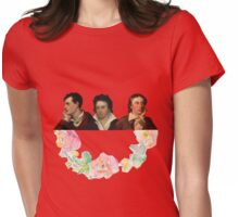 The Romantic Trio Womens Fitted T-Shirt