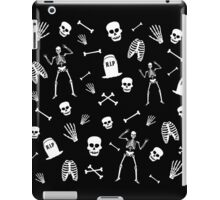 Skeleton Dance in Black iPad Case/Skin