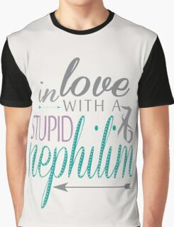 Stupid nephilim | Malec Graphic T-Shirt