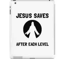 Jesus Saves Level iPad Case/Skin