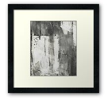 Simply Contrast 4 Study In Black And White Framed Print