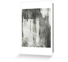 Simply Contrast 4 Study In Black And White Greeting Card