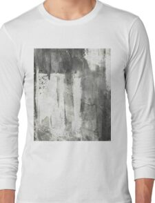 Simply Contrast 4 Study In Black And White Long Sleeve T-Shirt