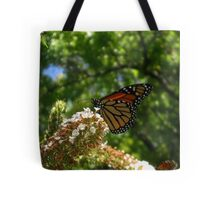 Monarch at work Tote Bag