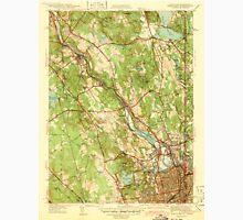USGS TOPO Map Rhode Island RI Pawtucket 353435 1938 31680 Unisex T-Shirt