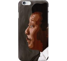 The Man (I Spell M.  A, Child. N.) iPhone Case/Skin