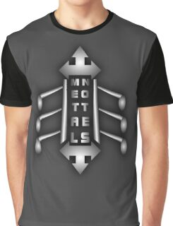 Metal Notes Sign Graphic T-Shirt