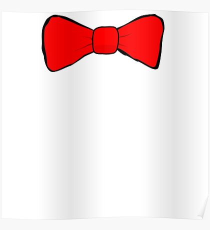 Red Bow Tie Poster