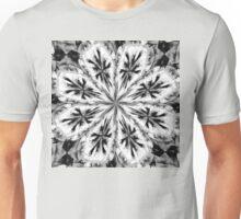Frosty Snow Flake Kaleidoscope Unisex T-Shirt