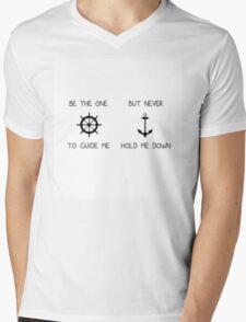 Guide Me Mens V-Neck T-Shirt