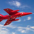 """""""Red Arrows"""" Gnat by Colin Smedley"""