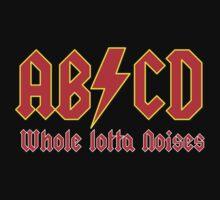 ABC a heavy metal parody funny Kids Tee
