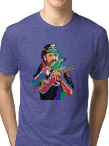 Lemmy bass motorhead Tri-blend T-Shirt