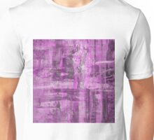 Abstract Study in Purple, pink and black Unisex T-Shirt