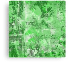 Abstract Study In Green Canvas Print