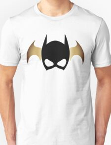 Batgirl Mask over bat T-Shirt