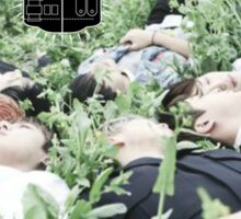 BTS - I Need U Wistful Photoshoot Sticker