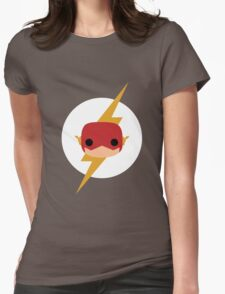 Flash Vinyl Face Womens Fitted T-Shirt