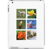 Spring Collage iPad Case/Skin