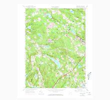 USGS TOPO Map Connecticut CT Montville 330672 1958 24000 Unisex T-Shirt