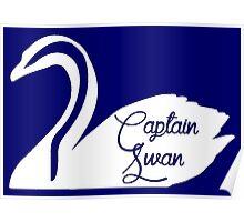 Captain Swan (White) Poster