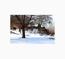 Winter in park. Unisex T-Shirt