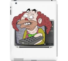 CLOWN TV ! iPad Case/Skin