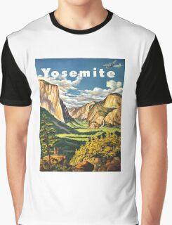 Yosemite Travel Graphic T-Shirt