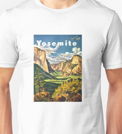 Yosemite Travel Unisex T-Shirt