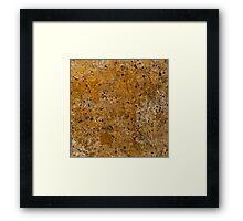 Abstract Study In Black And gold Framed Print
