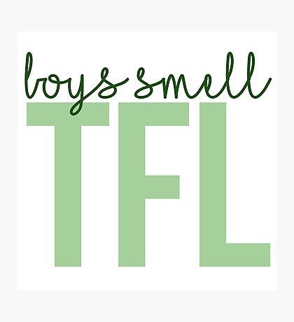Boys Smell TFL Photographic Print