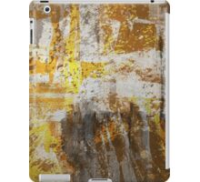 Abstract study in bronze iPad Case/Skin