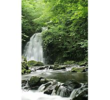 Gleno Waterfall Photographic Print