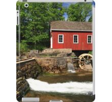 Historical building of Old water sawmill and small dam. iPad Case/Skin