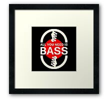 All You Need Is Bass (WR) Framed Print