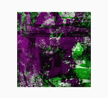 Abstract Study In Green And purple Unisex T-Shirt