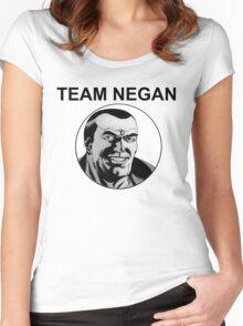 Team Negan Women's Fitted Scoop T-Shirt