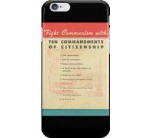 Fight Communism iPhone Case/Skin
