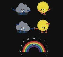 Character Fusion - Rainbow Baby Tee