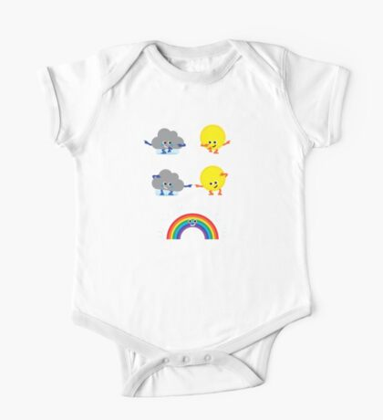 Character Fusion - Rainbow One Piece - Short Sleeve