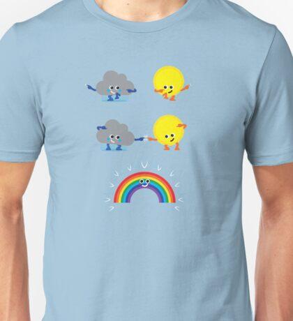 Character Fusion - Rainbow Unisex T-Shirt