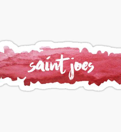 Saint Joseph's University - Watercolor Blob Sticker