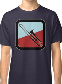 Trombone Sign Classic T-Shirt