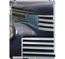 Partial front view of vintage service track. iPad Case/Skin